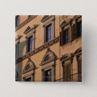 Window 15 Cm Square Badge