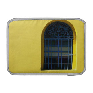 Window and Bench MacBook Sleeves
