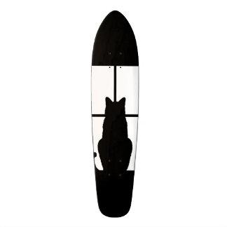 Window Black Cat Click to Customize a color decor Skate Board Decks