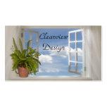 Window Business Card