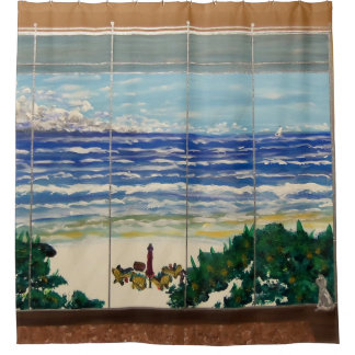 Window Cat 4 Shower Curtain