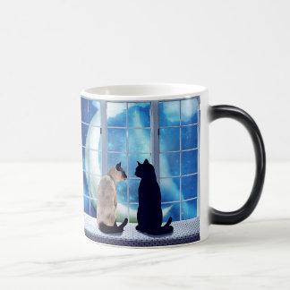 Window Cats Magic Mug