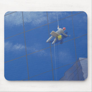 Window Cleaner 1990 Mouse Mat