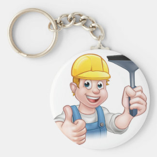 Window Cleaner With Squeegee Key Ring