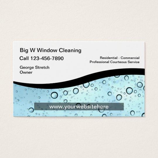Window cleaning business cards zazzle window cleaning business cards colourmoves