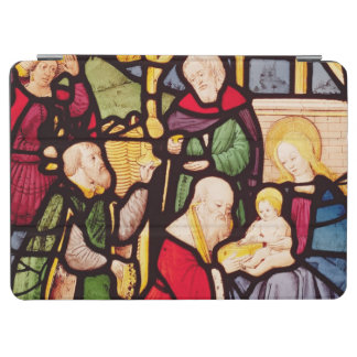 Window depicting the Adoration of the Magi iPad Air Cover