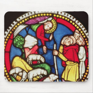 Window depicting The Annunciation to the Mouse Mat