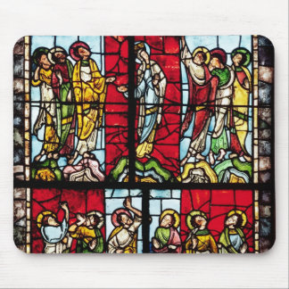 Window depicting the Ascension, c.1145 Mouse Mat