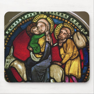 Window Depicting the Flight into Egypt Mouse Pad