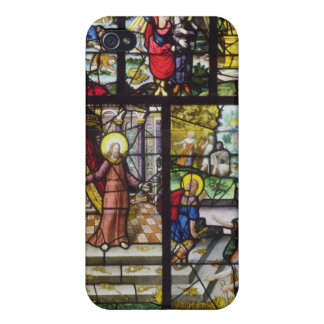 Window depicting the Gathering of the Manna Cases For iPhone 4