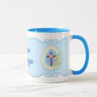 Window Egg and Cross Mug