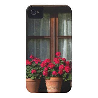 Window flower pots in village Case-Mate iPhone 4 case