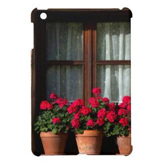 Window flower pots in village iPad mini covers