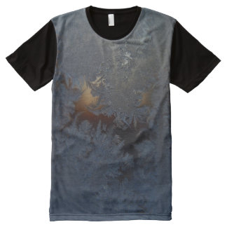Window Frost #1 All-Over Print T-Shirt