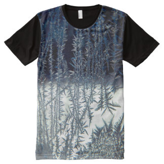 Window Frost #3 All-Over Print T-Shirt