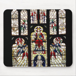 Window in Worcester Cathedral, 15th century Mouse Pad