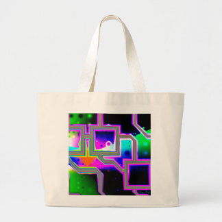 Window into the Universe– Magenta & Cyan Intersect Bag