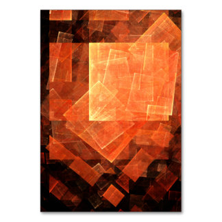 Window Light Abstract Art Table Card