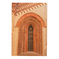 WINDOW OF GOTHIC  STYLE   WOOD WALL ART