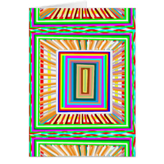 WINDOW of opportunity Elegant Energy Design GIFTS Greeting Card