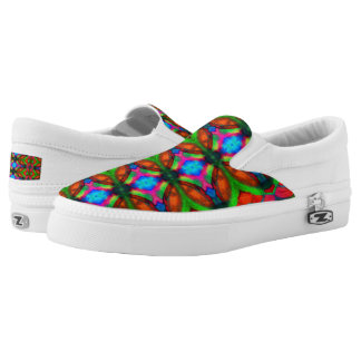 Window Printed Shoes