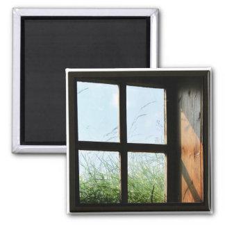 Window Square Magnet