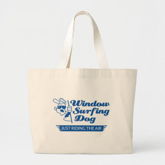 Window Surfing Dog 2 Bags