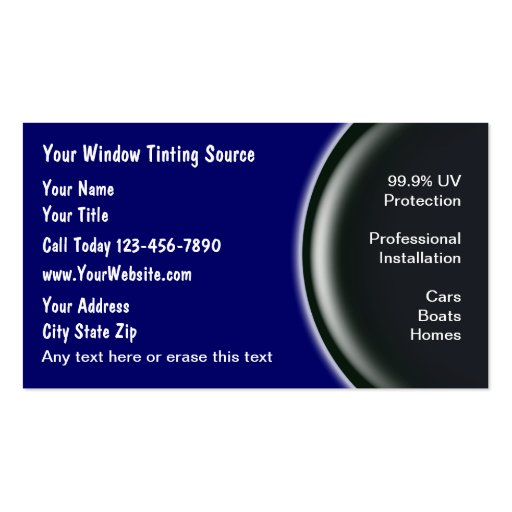 Premium automotive business card templates page4 window tinting business cards reheart Gallery