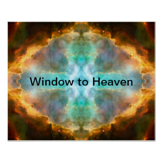 Window to Heaven Space Art Poster