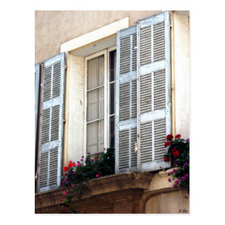 Window to Provence Postcard