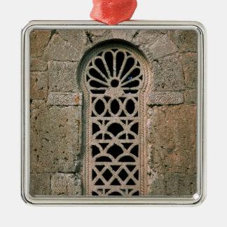 Window tracery, from  Basilica San Juan Christmas Ornament