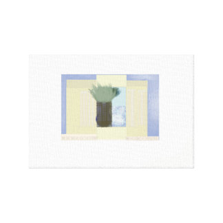 Window Vase Canvas Print