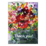Windowbox full of summer flowers greeting cards