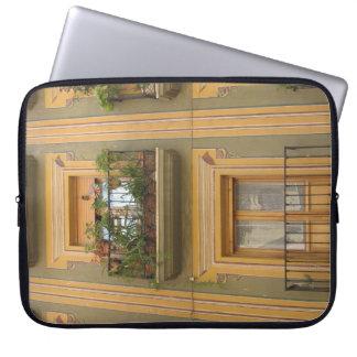 "Windows, Balcony Photo Neoprene Laptop Sleeve 15"""