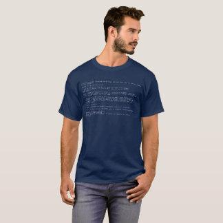 Windows Blue Screen Of Death T-Shirt