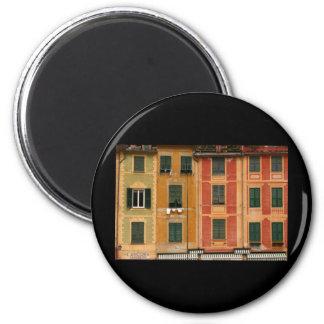 Windows in Portofino Italy Refrigerator Magnet