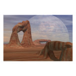 """Windows Of A Distant World (36""""x 24"""") Poster"""