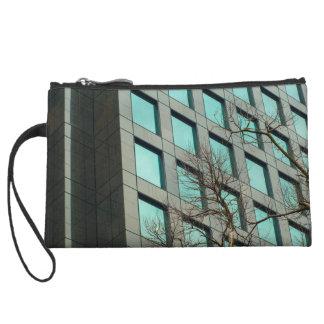 Windows of to Skyscraper Wristlet Clutch
