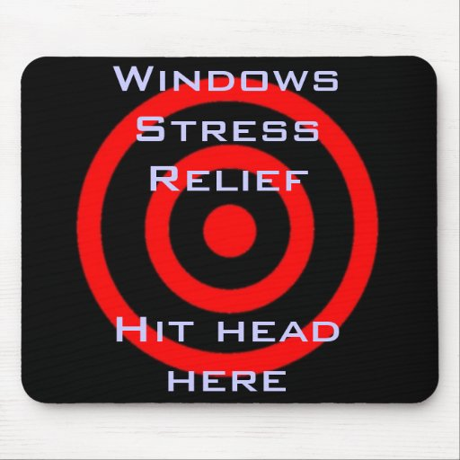 Windows Stress Relief Mouse Pads