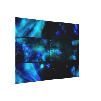 Windows To A space View Wrapped Canvas Print