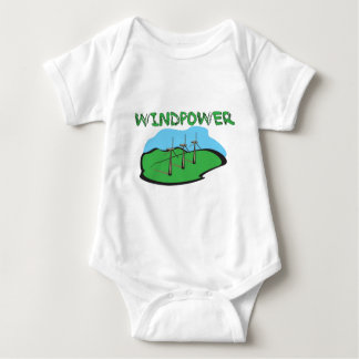 WindPower - Wind Power Shirt Design