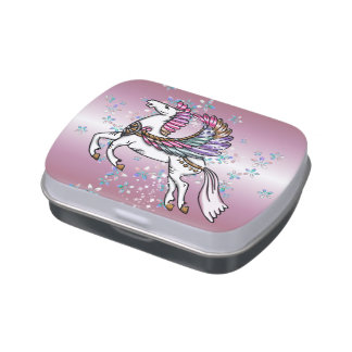 Winds and Wings Pegasus Jelly Belly Tin