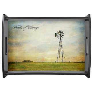 Winds of Change Serving Tray