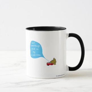 windscreen poo mug