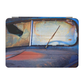Windshield of an old rusty truck iPad mini cover