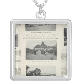 Windsor, California Silver Plated Necklace