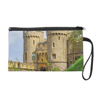 Windsor castle at spring time wristlet