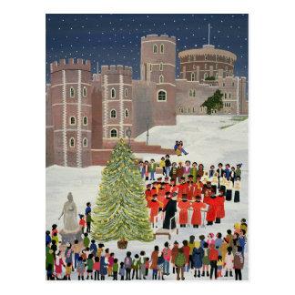 Windsor Castle Carol Concert 1989 Postcard