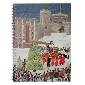 Windsor Castle Carol Concert 1989 Spiral Notebook