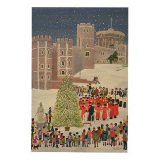 Windsor Castle Carol Concert 1989 Wood Print